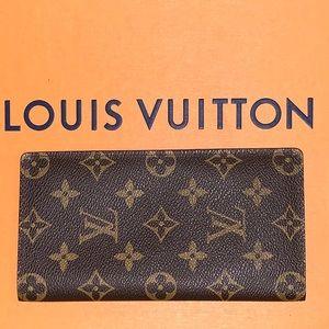 Louis Vuitton Brown Monogram Bifold Wallet